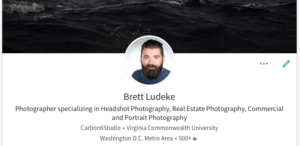 LinkedIn Headshot Photography in the Washington DC area